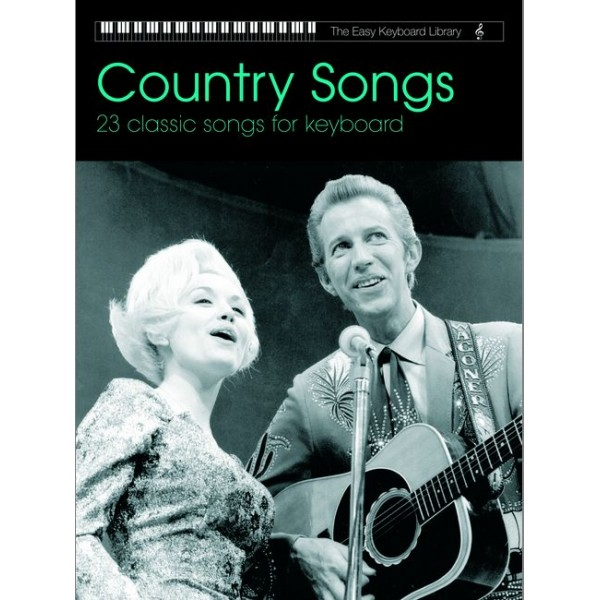 Various - Country Songs (easy keyboard library)