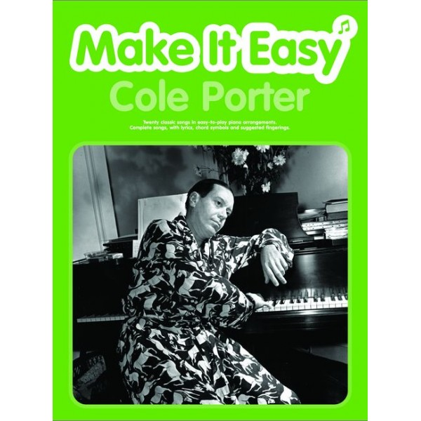 Porter, Cole - Make it Easy: Cole Porter (PVG)