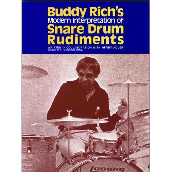 Rich, Buddy - Buddy Richs Snare Drum Rudiments