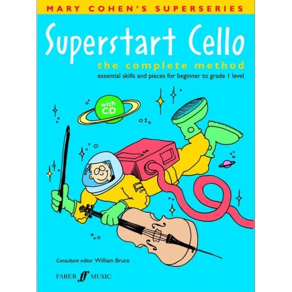 Cohen, M - Superstart Cello (book/CD)