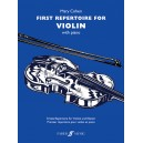 Cohen, Mary (editor) - First Repertoire for Violin