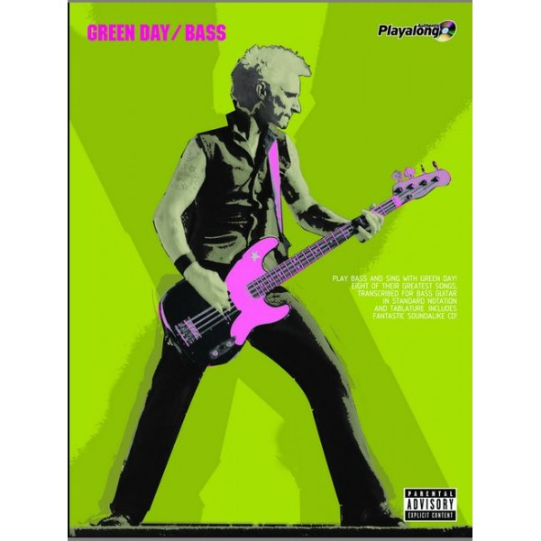 Green Day - Green Day Authentic Bass Playalong/CD