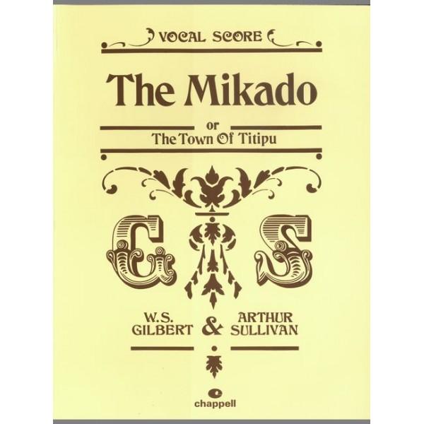 Gilbert, W - Mikado, The (vocal score)