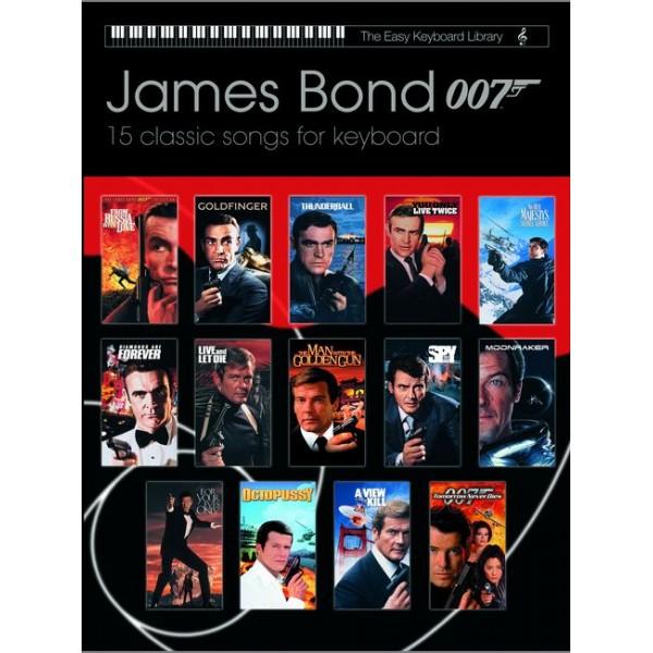 Various - James Bond 007 (easy keyboard library)