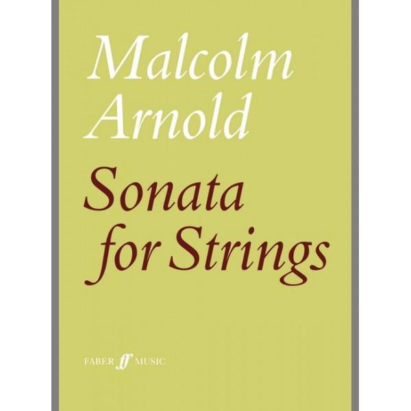 Arnold, Malcolm - Sonata for strings (score)