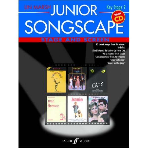 Marsh, Lin - Junior Songscape: Stage & Screen (Bk/CD)