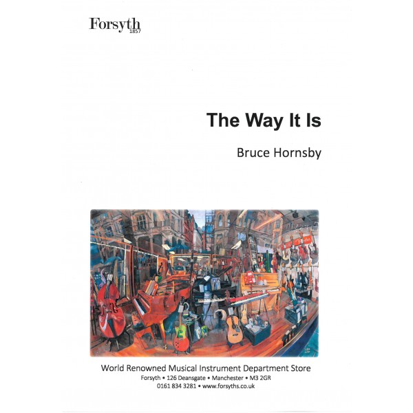 Hornsby, Bruce - Way it is, The (PVG)