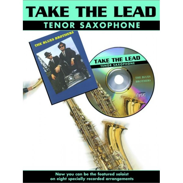 Various - Take the Lead. Blues Bros. (ten sax/CD)