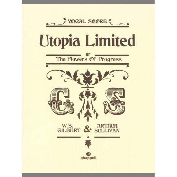 Gilbert, W - Utopia Limited (vocal score)