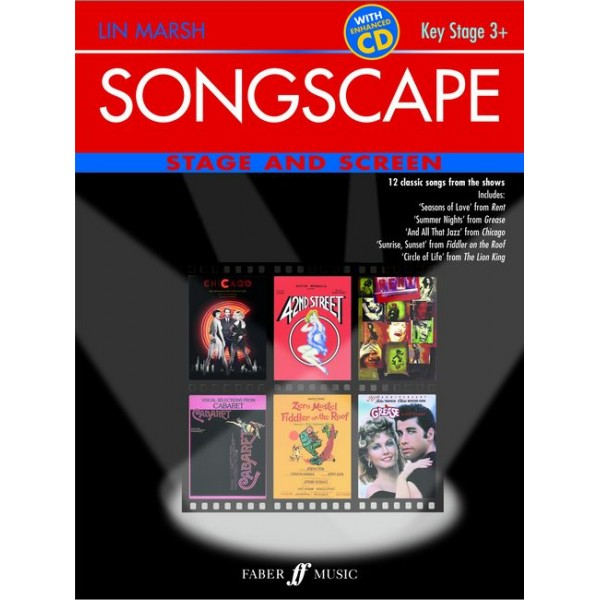 Marsh, Lin - Songscape: Stage & Screen (Book/ECD)