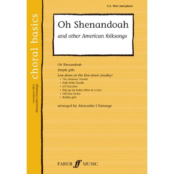 LEstrange, A. (arranger) - Oh Shenandoah. SA/Men acc. (CBS)