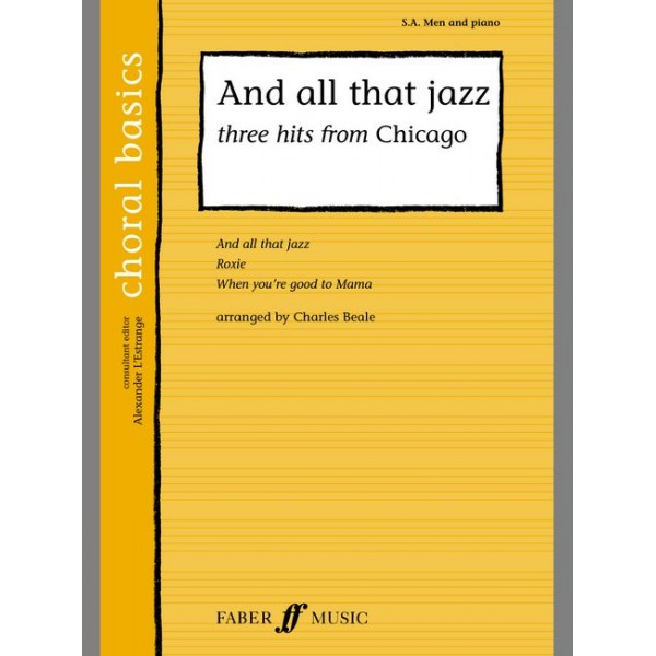 Beale, C (arranger) - And all that Jazz. SA/Men acc. (CBS)