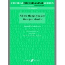 Arch, Gwyn (arranger) - All the Things You Are. SSA (CPS)