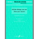Arch, Gwyn (arranger) - All the Things You Are. SATB (CPS)