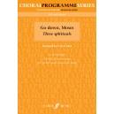 Arch, Gwyn (arranger) - Go down, Moses. SSA acc. (CPS)