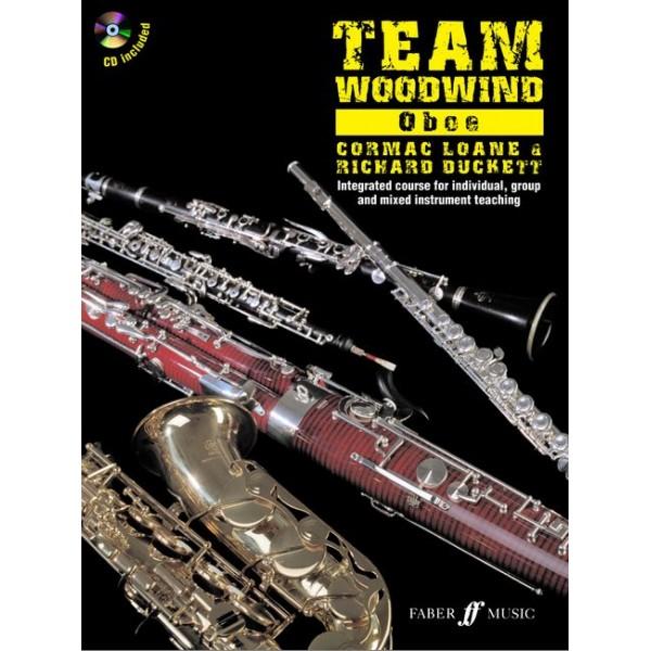 Duckett, R - Team Woodwind. Oboe (with CD)