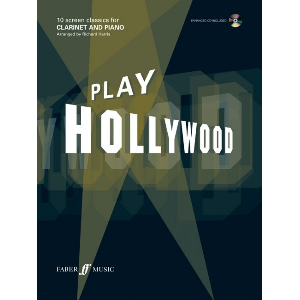 Harris, Richard (arranger) - Play Hollywood (clarinet/ECD)