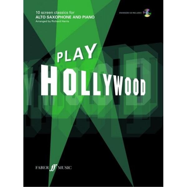 Harris, Richard (arranger) - Play Hollywood (alto saxophone/ECD)
