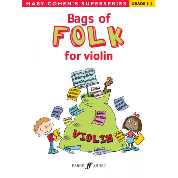 Cohen, Mary - Bags of Folk for violin