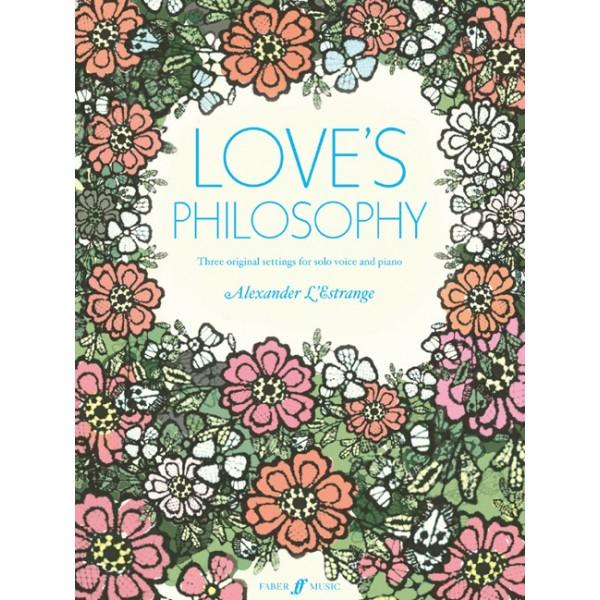 LEstrange, Alexander - Loves Philosophy (voice and piano)