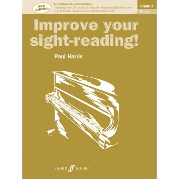 Harris, Paul - Improve your sight-reading! Piano 3 NEW!