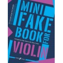 Adams, Sally - Mini Fake Book for Violin