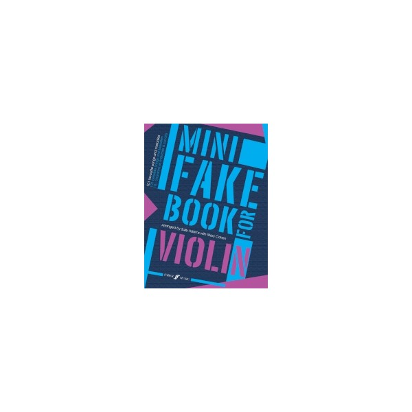 Adams, Sally - Mini Fake Book for Violin
