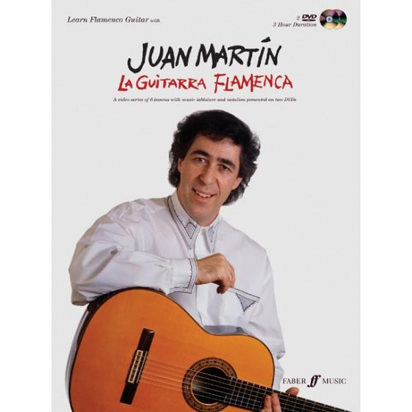 Martin, Juan - Guitarra Flamenca, La (book/2 DVDs)