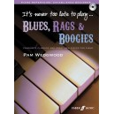 Wedgwood, Pam - Its never too late to play blues (bk/CD