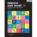 Harris, Paul - Improve your aural! Grade 7-8 (book/2CD)