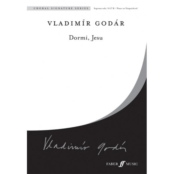 Godar, Vladimir - Dormi, Jesu. SATB accompanied (CSS)