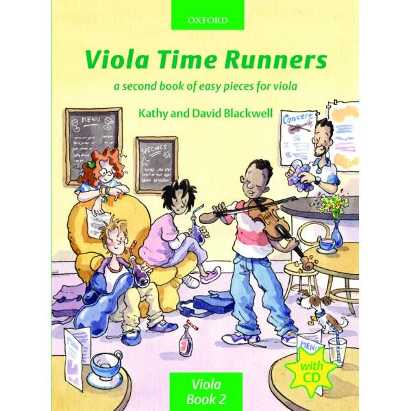 Viola Time Runners (book + CD) - Blackwell, Kathy  Blackwell, David