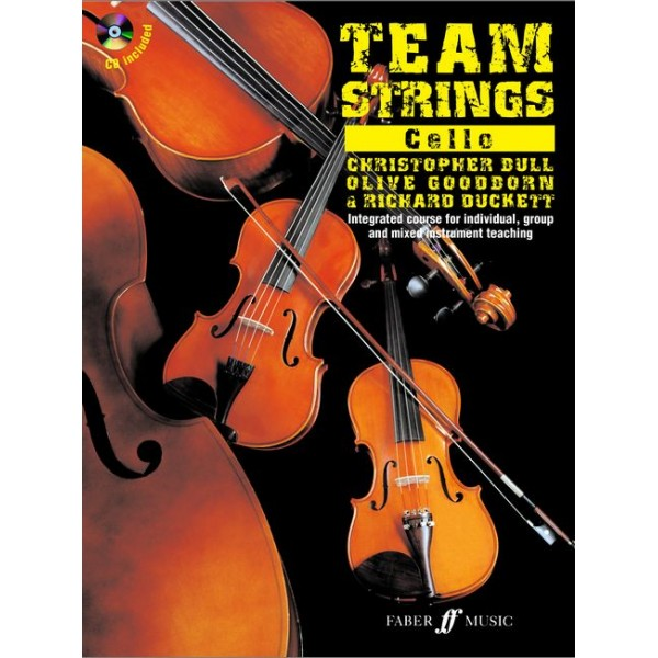 Duckett, Bull - Team Strings. Cello (with CD)