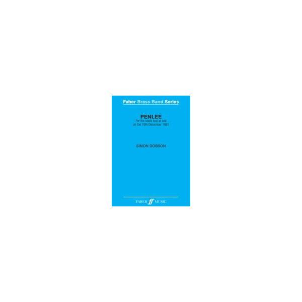 Dobson, Simon - Penlee (brass band score & parts)