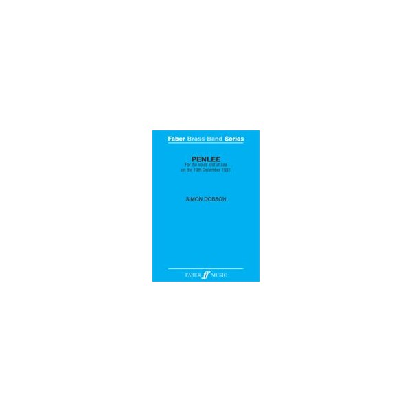 Dobson, Simon - Penlee (brass band score)