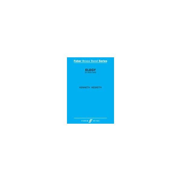 Hesketh, Kenneth - Elegy (brass band score)
