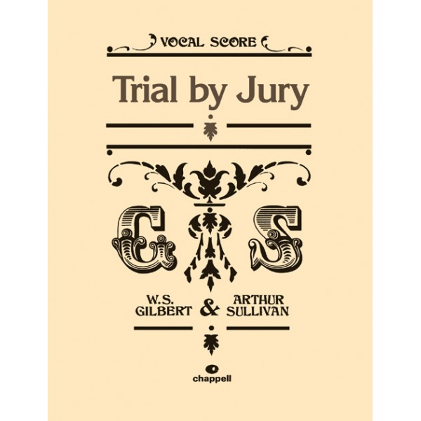 Gilbert, W - Trial by Jury (vocal score)