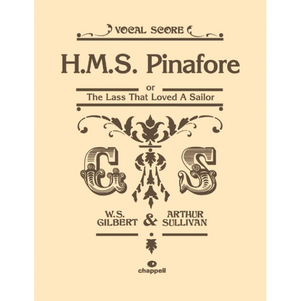 Gilbert, W - HMS Pinafore (vocal score)