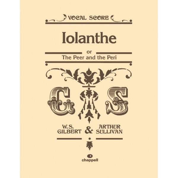 Gilbert, W - Iolanthe (vocal score)
