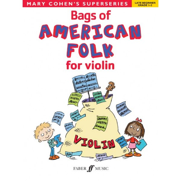 Cohen, Mary - Bags of American Folk for violin