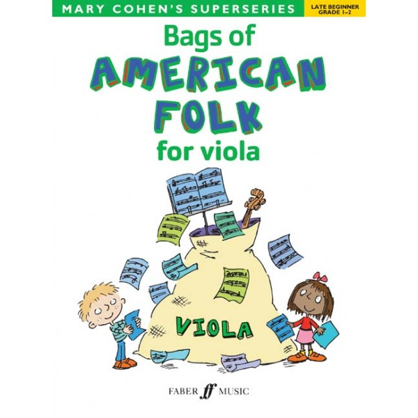 Cohen, Mary - Bags of American Folk for viola