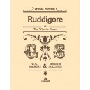 Sullivan, Arthur - Ruddigore (vocal score) Gilbert and Sullivan
