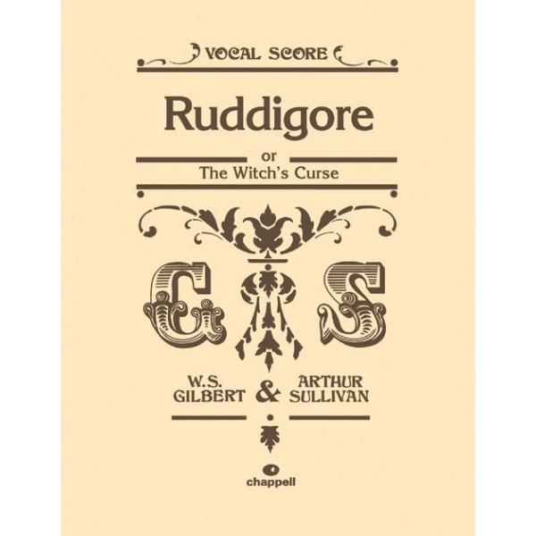 Gilbert, W - Ruddigore (vocal score)