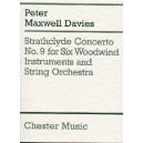 Peter Maxwell Davies: Strathclyde Concerto No. 9 (Miniature Score) - Maxwell Davies, Peter (Composer)