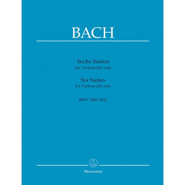 Bach J.S. - Six Suites for Cello (BWV 1007 - 1012)