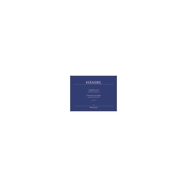 Handel G.F. - Concerto for Organ Op.4, Vol. 1 Nos 1 - 3