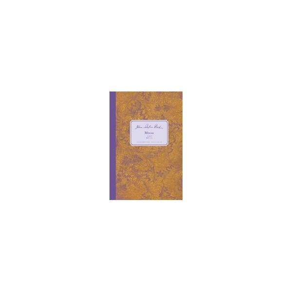 Bach J.S. - Mass in B minor (BWV 232) (Urtext) (L).