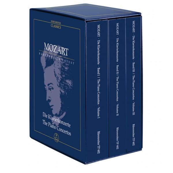 Mozart W.A. - Piano Concertos Complete.  3 Volume Study Score Edition (Urtext).