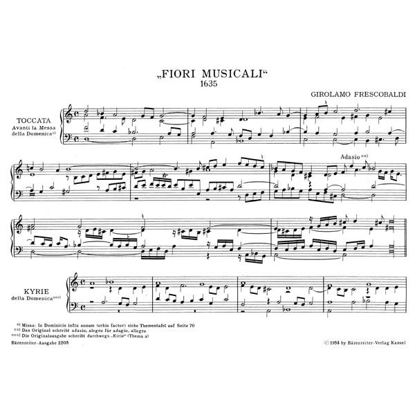 Frescobaldi G. - Organ and Piano Works, Vol. 5: Fiori musicali (Organ Masses).