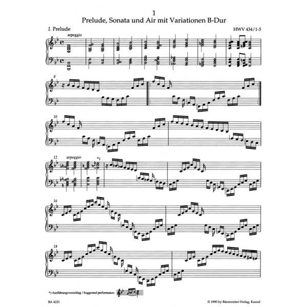 Handel G.F. - Piano Works, Vol. 2: Second Set of 1733 (HWV 434-442) (Urtext).